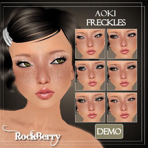 Aoki freckles ad