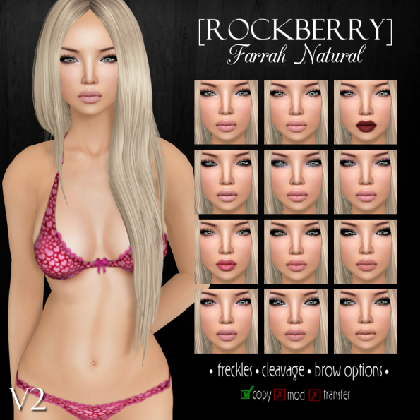 ROCKBERRY Farrah Natural V2